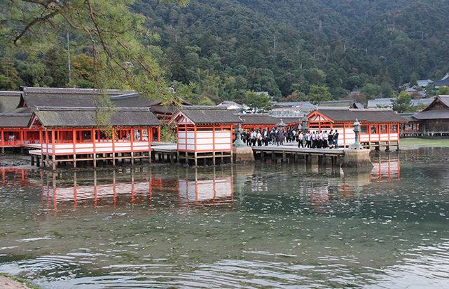 Santuario de Itsukujima en Miyajima